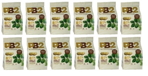 Bell Plantation Powdered Peanut Butter 16 oz - 12 Pack by Unknown
