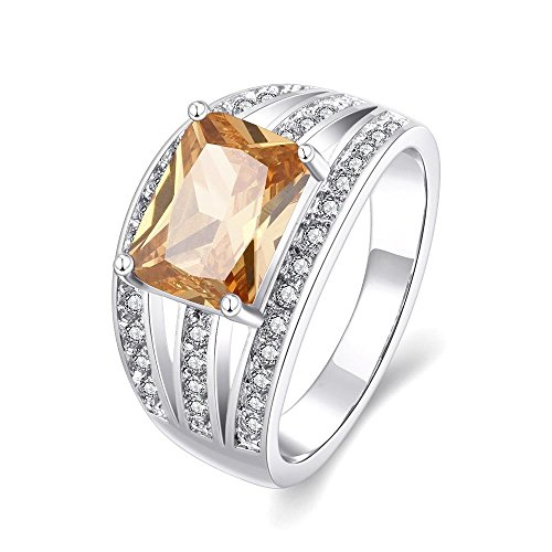 The Characteristics Of Noble Temperament Hollow Out Embed Large Zircon - Nyc Store Palladium