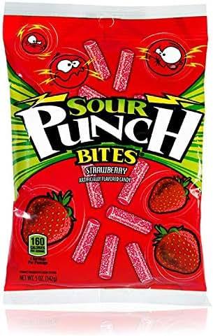 Gummy Candies: Sour Punch Bites