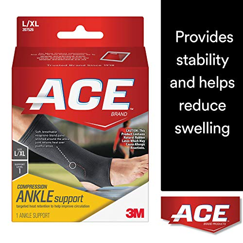 ACE Elasto-Preene Ankle Support, - Support Back Elasto