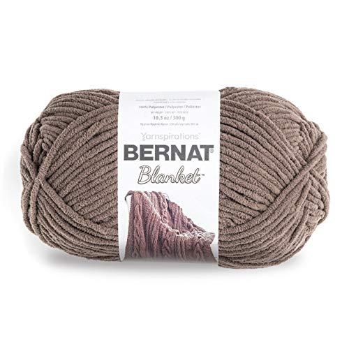 Bernat Blanket Big Ball Yarn  Taupe