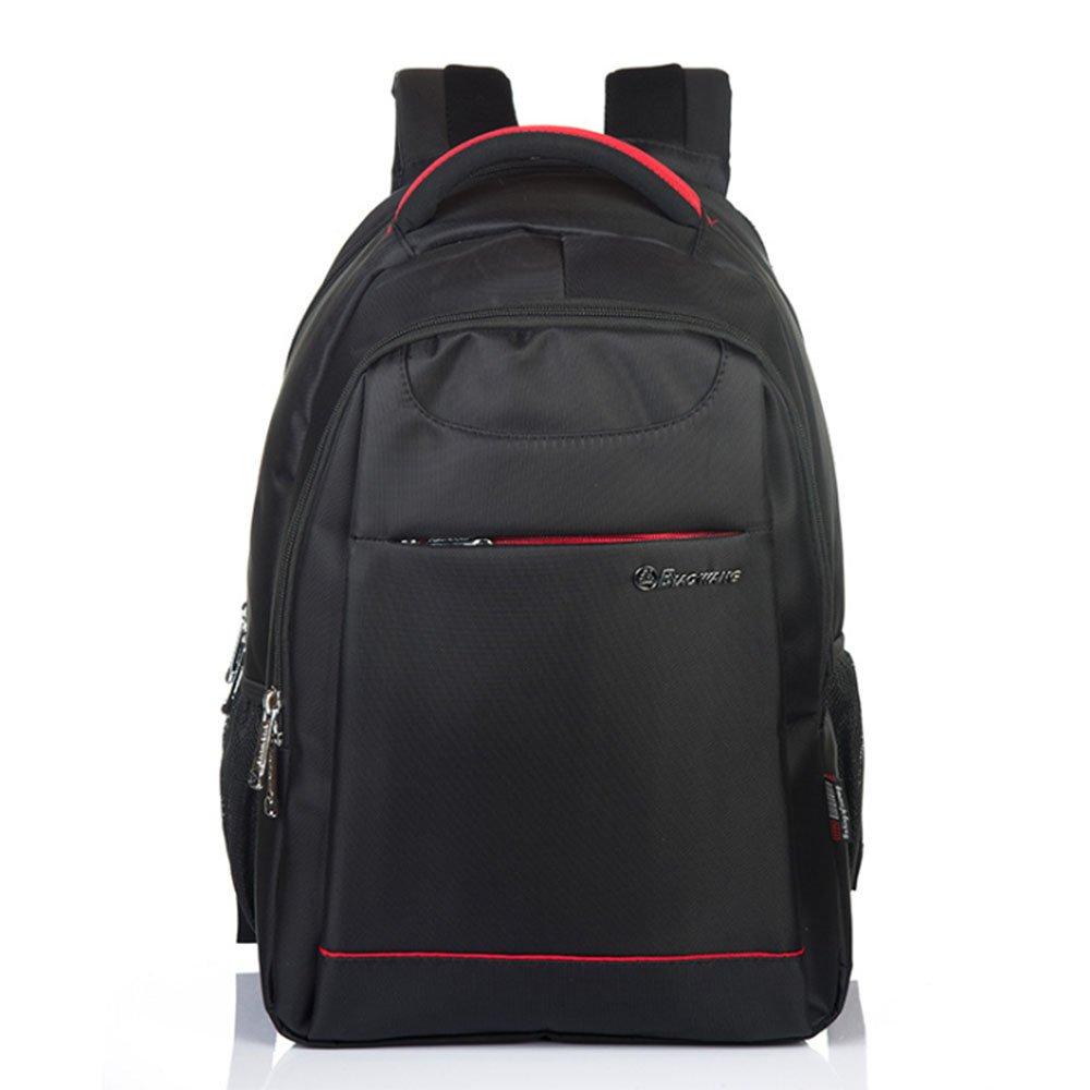 2018 Men's fashion outdoor sports traveling business leisure shoulder bag (black)