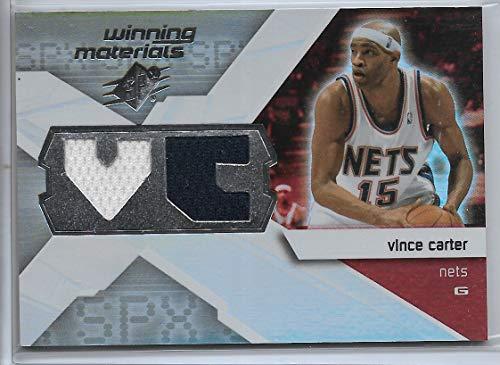 Vince Basketball Carter (2008-09 UD SPX Basketball Vince Carter Winning Materials Jersey Card # WMI-VC)