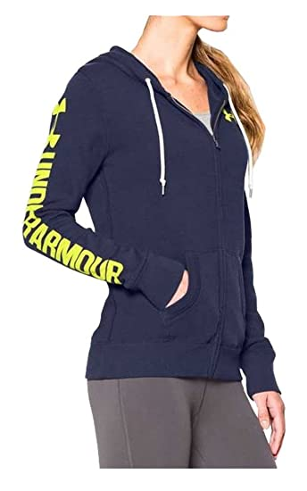 Under Armour Favorite Fleece Full Zip Hoody - Women s Blue Knight   Flash  Light   Flash 787c66e674