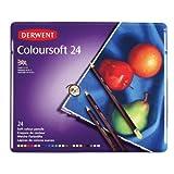 Derwent Colored Pencils, Drawing, Art, Colorsoft, 24-Pack (0701027)