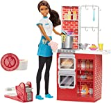 Barbie Kitchen Playset Barbie Spaghetti Chef African-American Doll & Playset