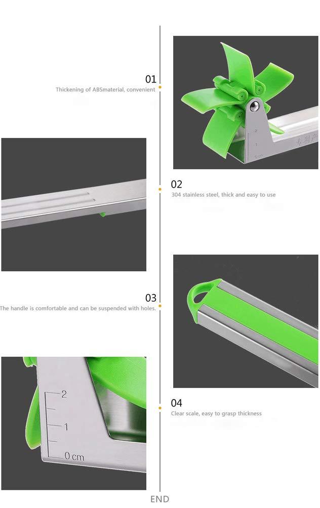 Stainless Steel Watermelon Windmill Cutter-Multifunctional Watermelon Slicer Fruit Tools Kitchen Gadgets