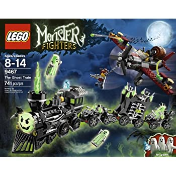 lego monster fighters 9467 the ghost train - Lego Halloween Train