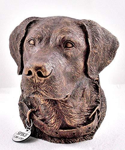 Bronze Urn Individual - Labrador Retriever Memorial Urn