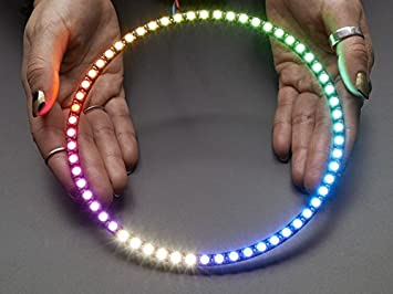 Home & Kitchen Adafruit NeoPixel 1/4 60 Ring WS2812 5050 RGB LED w/Integrated Drivers
