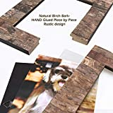 EosGlac Rustic 8x10 Wooden Picture Frame, Handmade