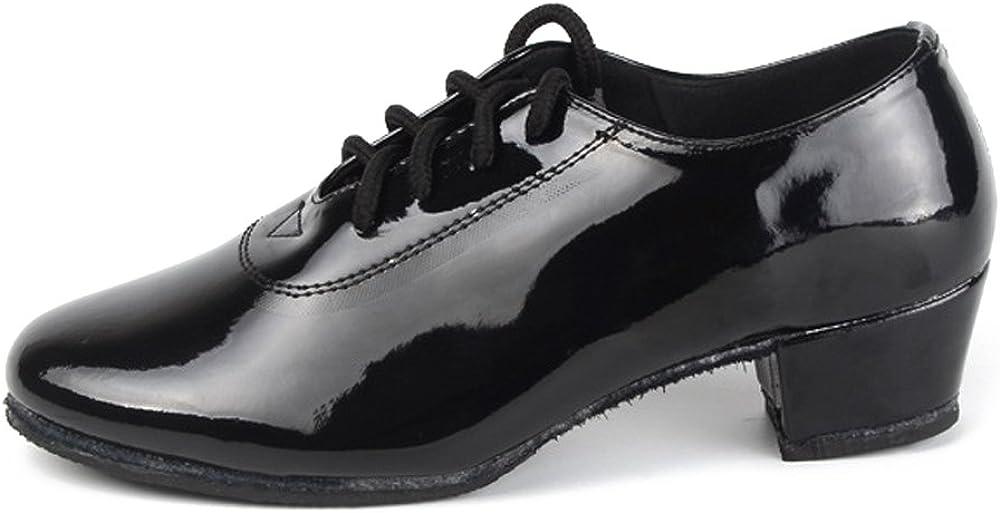 ZEVONDA Soft Sole Boys//Mens Latin Dance Shoes Modern Dancing Shoes