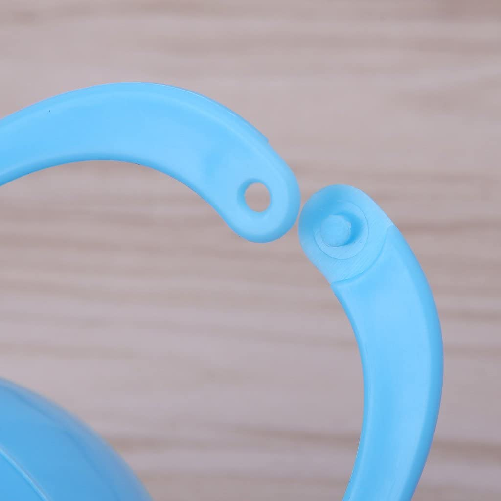 RROVE Portable Baby Boy Girl Infant Pacifier Nipple Cradle Case Holder Box Unisex New Blue