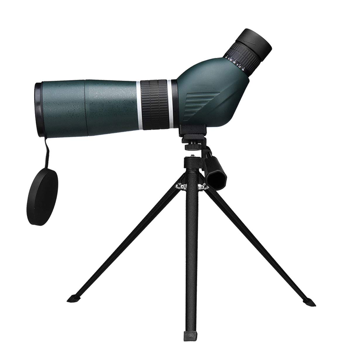 Jzmae New 15-45x60 Monocular Binoculars Night Vision Waterproof HD Zoom View Range Telescope + Tripod and Clips for iPhone Xs for Android by Jzmae