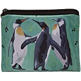 Penguin Change Purse, Coin Purse - From My Original Painting, The Trio