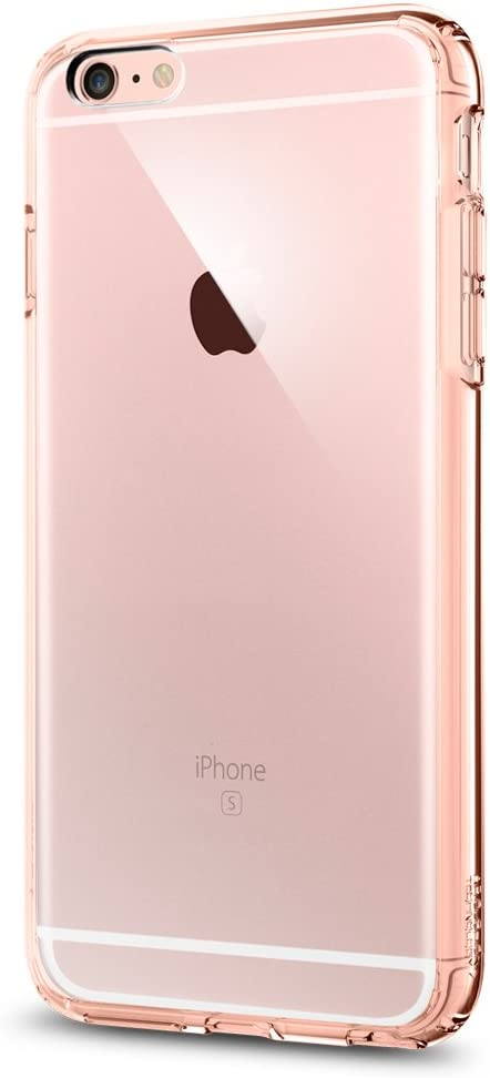 Spigen Ultra Hybrid Designed for Apple iPhone 6S Plus Case (2015) - Rose Crystal