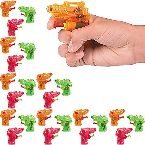 Mini Squirt Water Gun Assortment 24-Pack  Size: 2 1/2