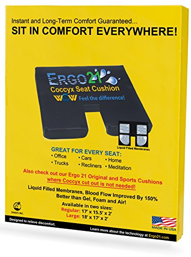 ERGO21 LiquiCell Coccyx Seat Cushion product image