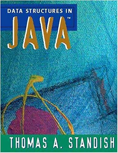 Data Structures in Java: Thomas A  Standish: 9780201305647