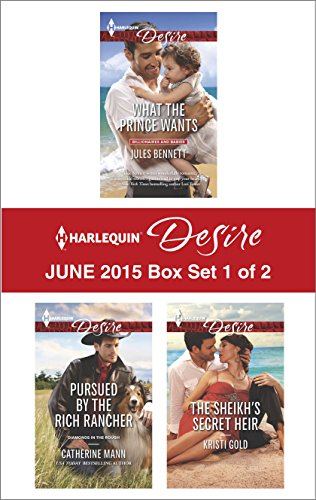 book cover of Harlequin Desire June 2015 - Box Set 1 of 2