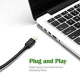 VicTsing Mini Displayport to HDMI TV Cable Adapter, Thunderbolt to Hdmi Adapter for MacBook, MacBook Pro, Mac Book Air 1080P,Black