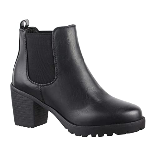 Bottines Boots Elara Femme Chunkyrayan Ankle Confortables Pour BwdqxXPd8