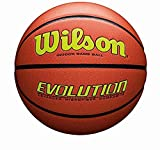 """Wilson Evolution Game Basketball, Yellow, Official Size - 29.5"""""""