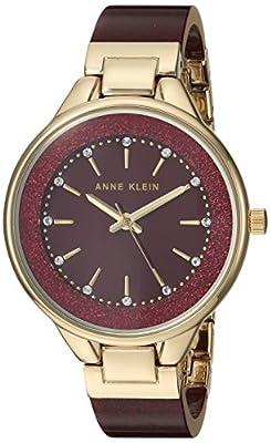 Anne Klein Women's Swarovski Crystal and Bangle Watch by Anne Klein