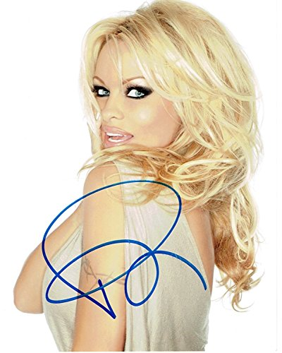 PAMELA ANDERSON - Sexy AUTOGRAPH Signed 8x10 Photo