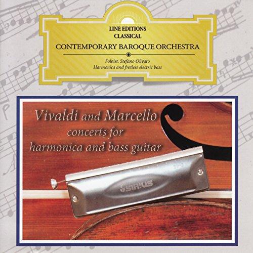 Marcello A.: Concerto No. 2 in D Minor per oboe, archi e basso continuo, S.Z799: I. Andante (Arr. for Chromatic Harmonica, Strings, Cembalo and Lute) Bass Classical String Basses