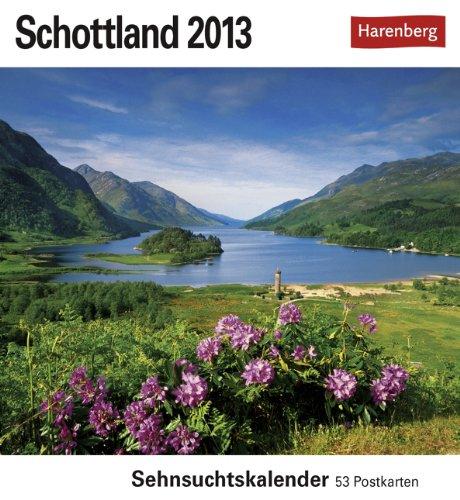 Schottland 2013: Sehnsuchts-Kalender. 53 heraustrennbare Farbpostkarten