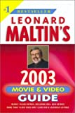 Leonard Maltin's Movie and Video Guide 2003, Leonard Maltin, 0452283299