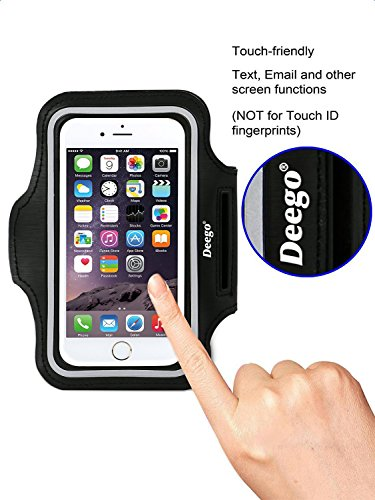 iPhone 6/6S Plus Armband,Nancys shop Premium Exercise Sports Easy Fitting Slim Scratch-Resistant Running Walking Water Resistant+ Key Holder Slot For iPhone 7 Plus,Galaxy S8 S7 S6 Edge 5.5 Inch