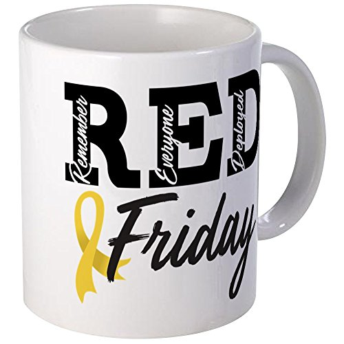 CafePress - Army RED Friday - Unique Coffee Mug, Coffee Cup