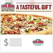 Papa John's Pizza Gift Cards - E-mail Deli