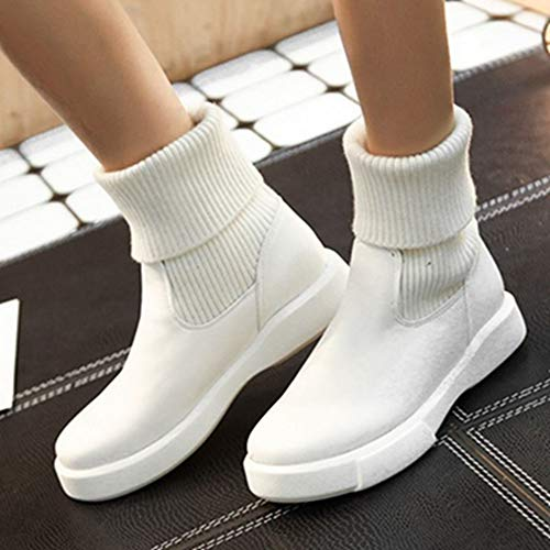 Casual White Boots Sport Women Ankle Sjjh qtY1S