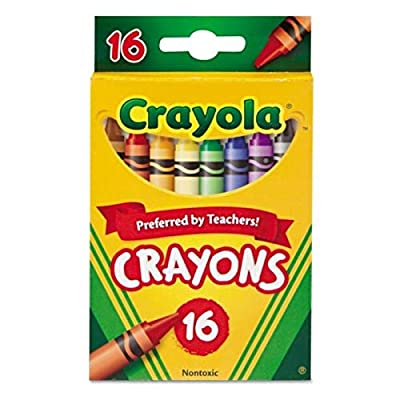 Crayola Classic Color Pack Crayons 16 ea.: Toys & Games
