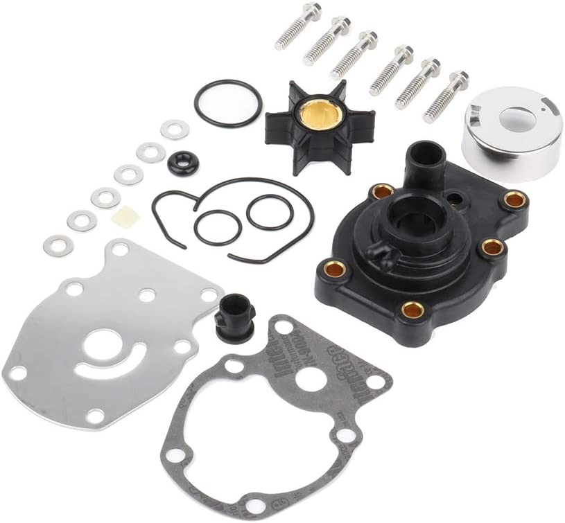 OCPTY Water Pump Impeller Kit 393630 0393630 395289 393632 328755 328751 for Johnson Evinrude OMC Outboard Engine
