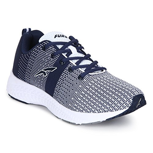 Red Chief Men's Grey Running Shoes-8 UK