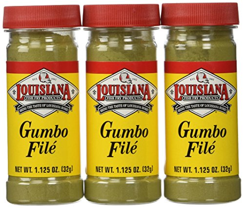 Louisiana Fish Fry Gumbo File Powder-3 (THREE) 1.1oz - File Chacheres Gumbo Tony