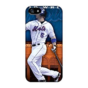 Marycase88 Iphone 5/5s Best Hard Cell-phone Cases Allow Personal Design Stylish New York Mets Image [KGa17837daSf]