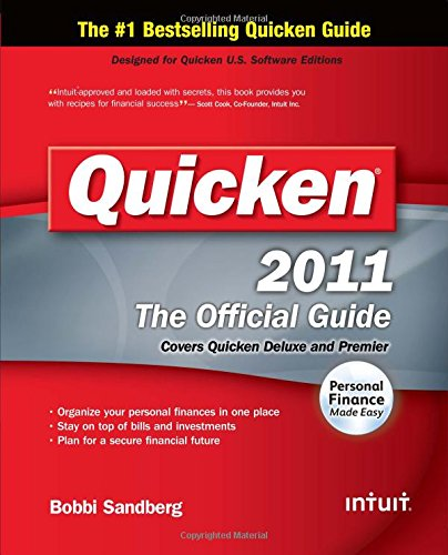 Quicken 2011 Official Guide  The Official Guide