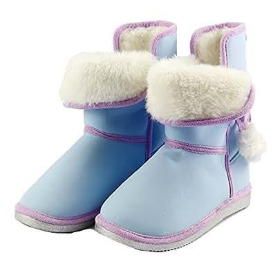 Amazon.com | The Doll Maker Fresh Cyan Snow Boot -Size