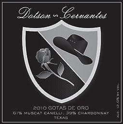 2010 Dotson-Cervantes Gotas De Oro Muscat Canelli Chardonnay Blend 500 mL