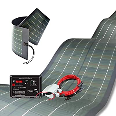 Unlimited Solar 300 Watt RV, Marine Flexible Solar Panel Kit, MPPT, Premium