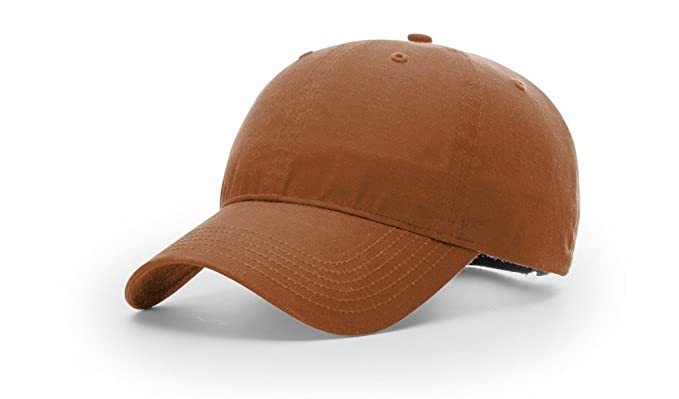 Made inUSA OSFM American Outdoorsman Tan Oilcloth 5 Panel Cap NEW Structured
