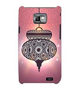 Antiek look lantaarn 3D Hard Polycarbonate Designer Back Case Cover for Samsung Galaxy S2 :: Samsung Galaxy S2 i9100