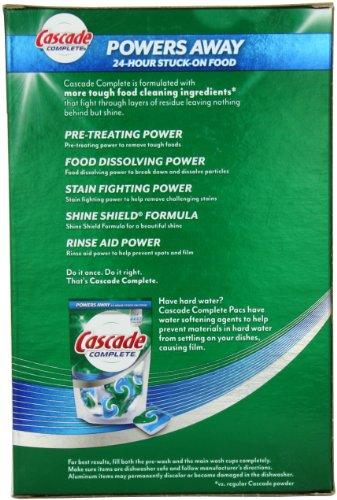 Cascade Complete, Powder Dishwasher Detergent, Fresh Scent 45 Oz (Pack of 2)