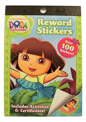 Dora The Explorer Crafts - Dora the Explorer Sticker Book ~ Includes Activities, Certificates, and Over 100 Reward Stickers