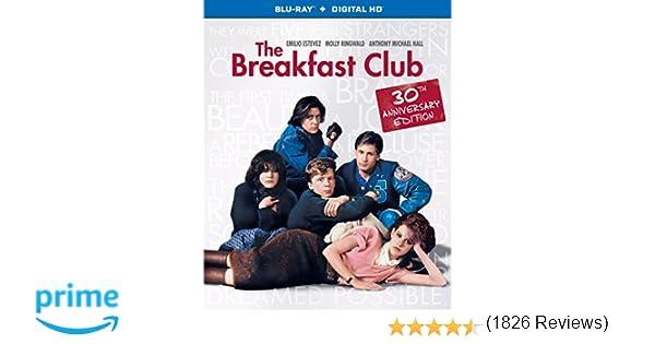 The Breakfast Club (30th Anniversary Edition) (Blu-ray + Digital HD)